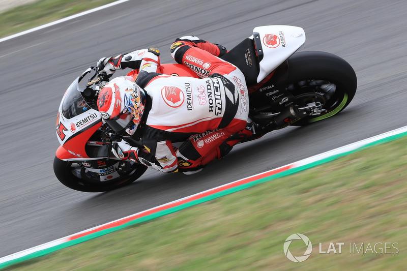 Tetsuta Nagashima, Idemitsu Honda Team Asia Moto2
