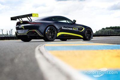 Anuncio Aston Martin GT3/GT4