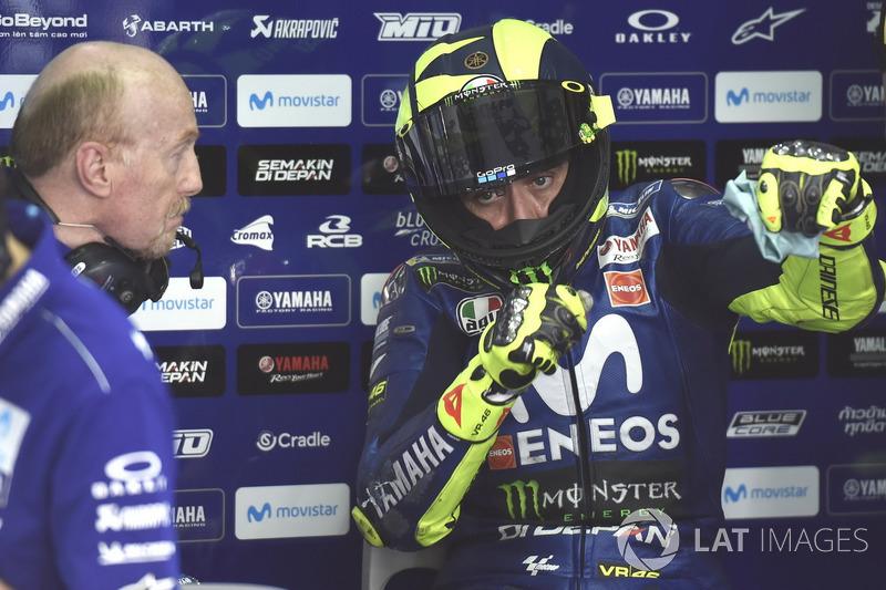 8- Valentino Rossi, Yamaha Factory Racing