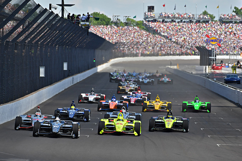 Start: Ed Carpenter, Ed Carpenter Racing Chevrolet lider