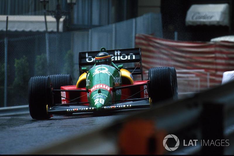Thierry Boutsen, Benetton