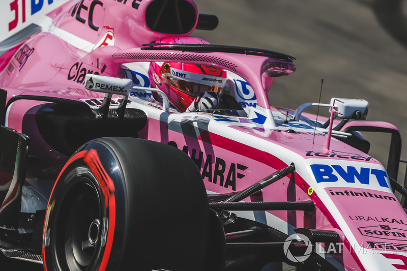 13. Esteban Ocon, Force India VJM11