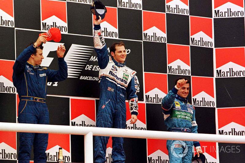 1997: 1. Jacques Villeneuve, Williams 2. Olivier Panis, Prost Grand Prix 3. Jean Alesi, Benetton