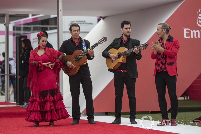 Band dan penari Flamenco