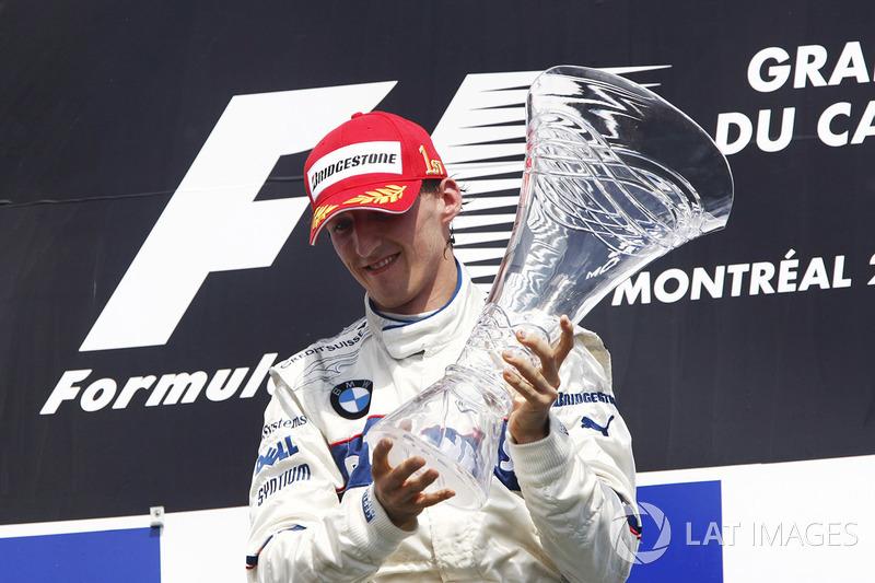 15. Robert Kubica - Letzter Sieg: Großer Preis von Kanada 2008 für BMW-Sauber