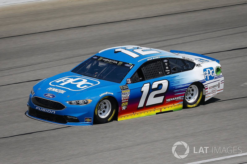 2. Ryan Blaney, Team Penske, Ford Fusion PPG