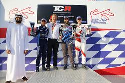 Подіум: переможець Стефано Коміні, Comtoyou Racing, друге місце Джанні Морбіделлі, West Coast Racing, третє місце Джош Файлс, M1RA