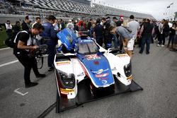 Car of #32 United Autosports Ligier LMP2: Will Owen, Hugo de Sadeleer, Paul Di Resta, Bruno Senna
