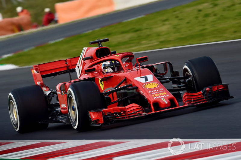 2018 : Kimi Räikkönen, Ferrari SF71H