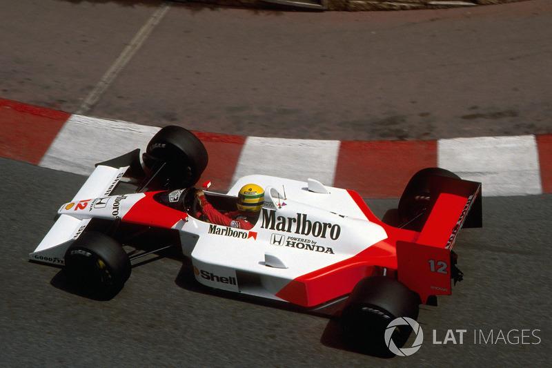 2 – Classificação para o GP de Mônaco de 1988