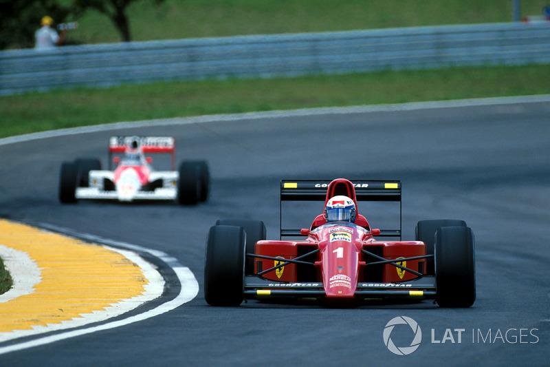 1990. Інтерлагос. Переможець: Ален Прост, Ferrari 641