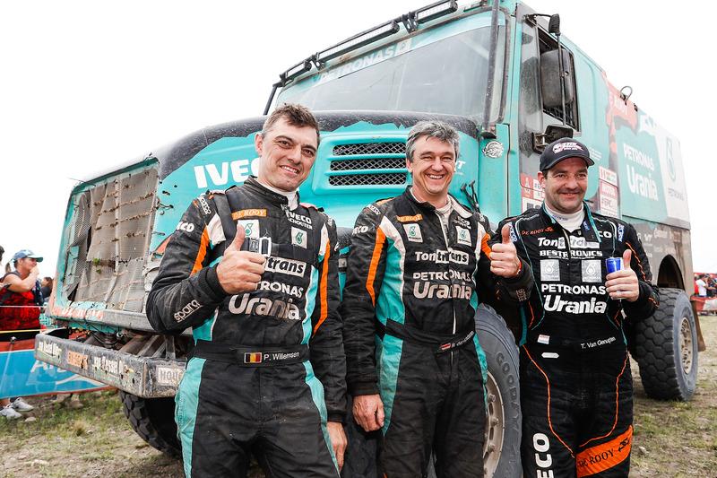 8. #509 Team De Rooy Iveco: Тон ван Генугтен, Бернард дер Кіндерен, Петер Віллемсен
