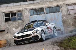 Andrea Nucita, Marco Vozzo, Abarth 124 Rally