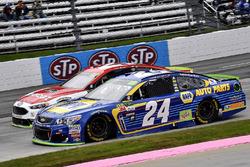Chase Elliott, Hendrick Motorsports Chevrolet pace lap