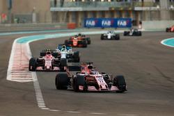 Sergio Perez, Sahara Force India F1 VJM10, Esteban Ocon, Sahara Force India F1 VJM10, Felipe Massa, Williams FW40, Fernando Alonso, McLaren MCL32