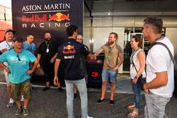 Daniel Ricciardo, Red Bull Racing with the staff of JMD Design