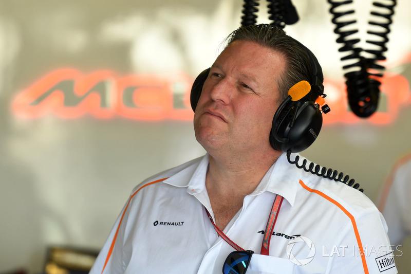 Zak Brown, Executive Director McLaren
