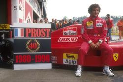 Alain Prost, Ferrari, fête ses 40 victoires en Grand Prix