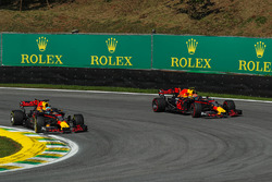Daniel Ricciardo, Red Bull Racing RB13 and Max Verstappen, Red Bull Racing RB13