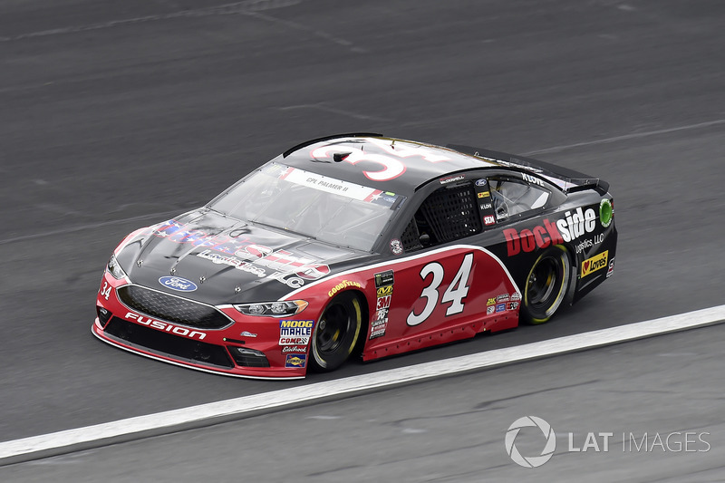 29. Michael McDowell, Front Row Motorsports, Ford Fusion Dockside Logistics