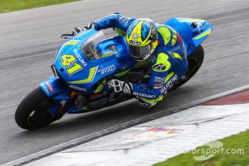 Aleix Espargaro (Suzuki): Startnummer 41