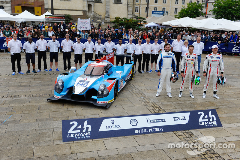 #25 Algarve Pro Racing Ligier JSP2 Nissan: Michael Munemann, Chris Hoy