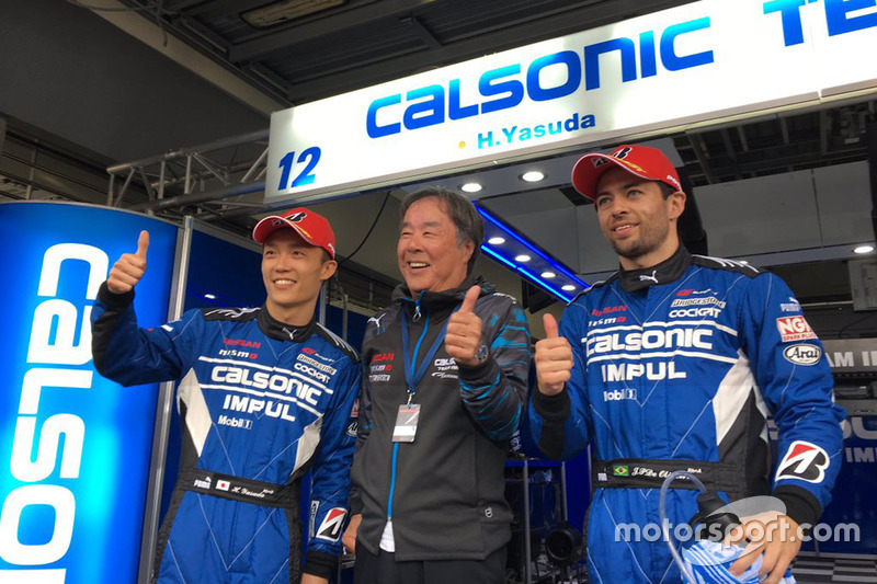 Polesitters Hironobu Yasuda, Joao Paulo de Oliveira, Team Impul