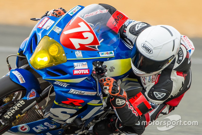 #72 Suzuki: Baptiste Guittet, Romain Maitre, Robin Camus, Eddy Dupuy