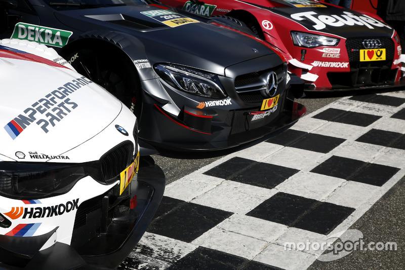 Mercedes, Audi e BMW: le auto del campionato
