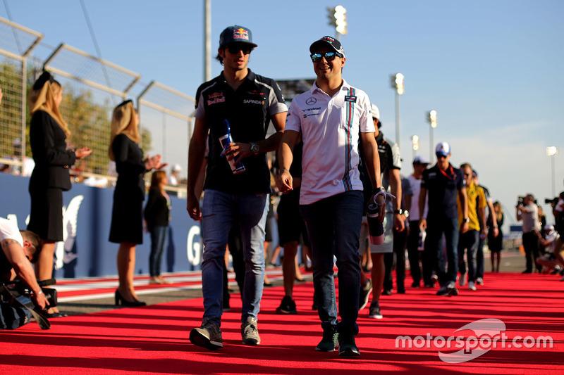 Felipe Massa, Williams and Carlos Sainz Jr., Scuderia Toro Rosso