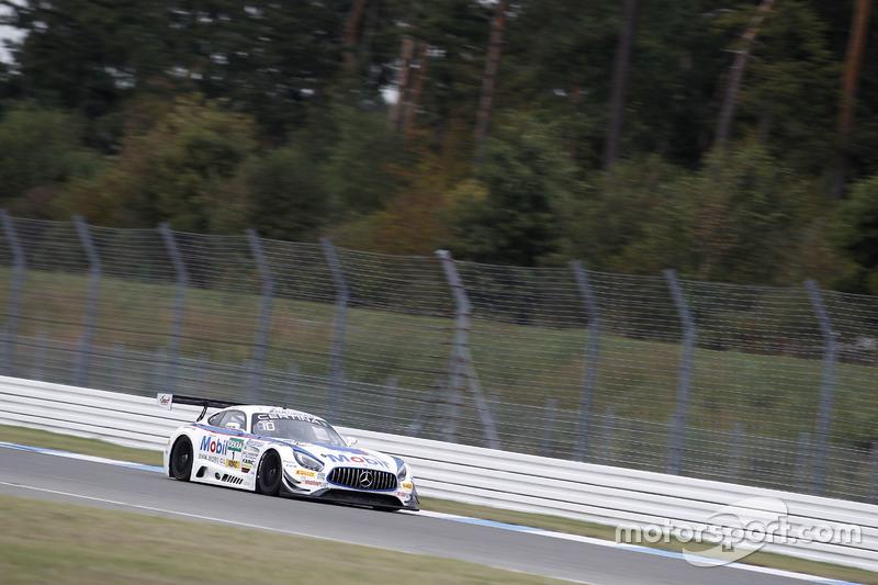 #1 AMG - Team Zakspeed Mercedes-AMG GT3: Luca Ludwig, Sebastian Asch.