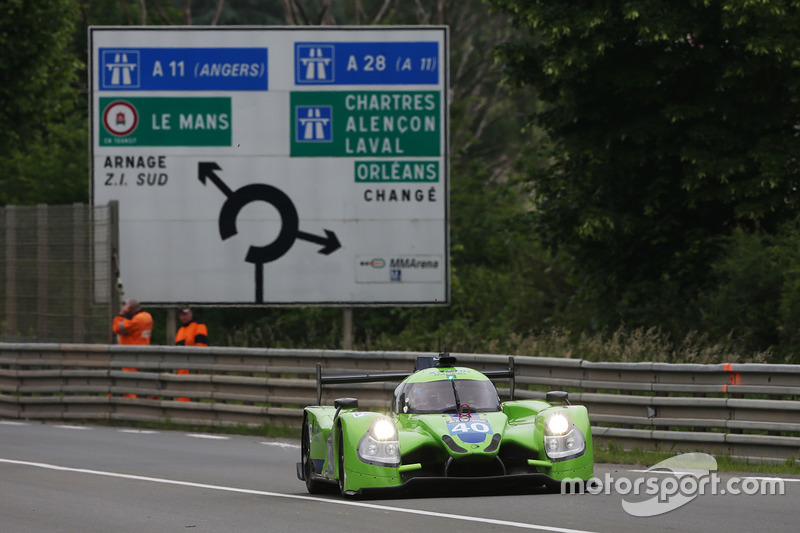 23. LMP2: #40 Krohn Racing, Ligier JS P2 - Nissan