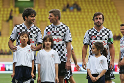 Carlos Sainz Jr., Scuderia Toro Rosso, Max Verstappen, Red Bull Racing and Fernando Alonso, McLaren