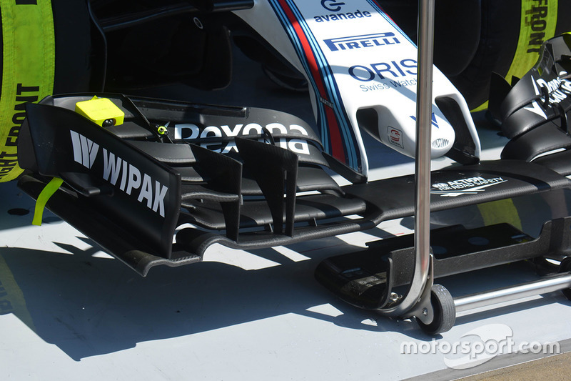 Valtteri Bottas, Williams F1 Team front wing