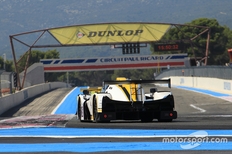 #15 RLR Msport Ligier JSP3 - Nissan: Marten Dons, Anthony Wells, Ross Warburton