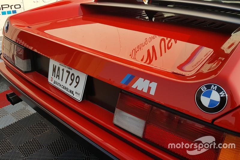 Una classica BMW M1