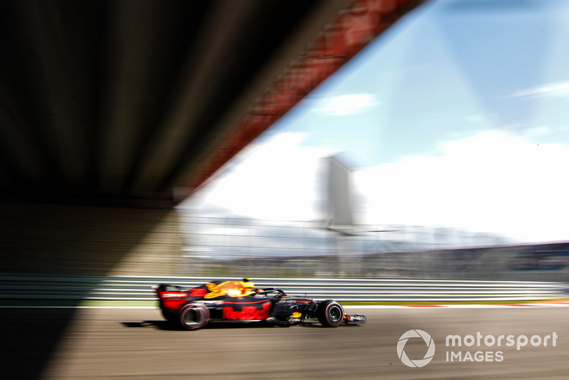 20: Max Verstappen, Red Bull Racing RB14, no time