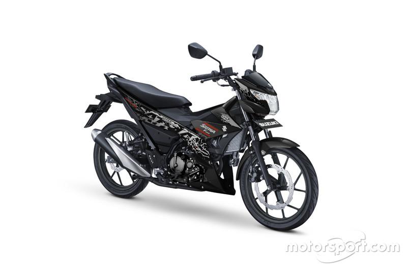 All New Satria F150 - Titan Black