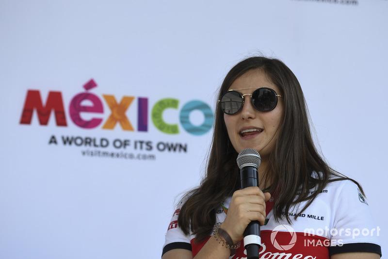 Tatiana Calderon, Alfa Romeo Sauber F1 Team piloto de prueba