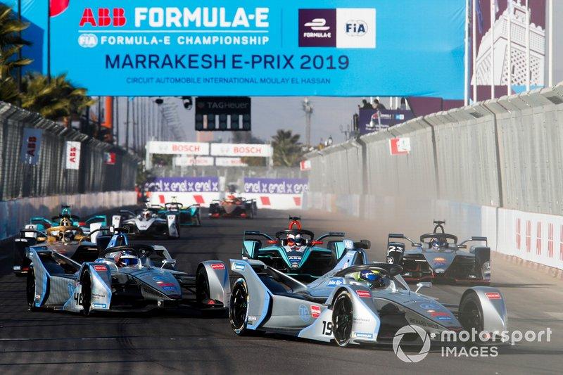 Felipe Massa, Venturi Formula E, Venturi VFE05, Edoardo Mortara Venturi Formula E, Venturi VFE05, Mitch Evans, Jaguar Racing, Jaguar I-Type 3