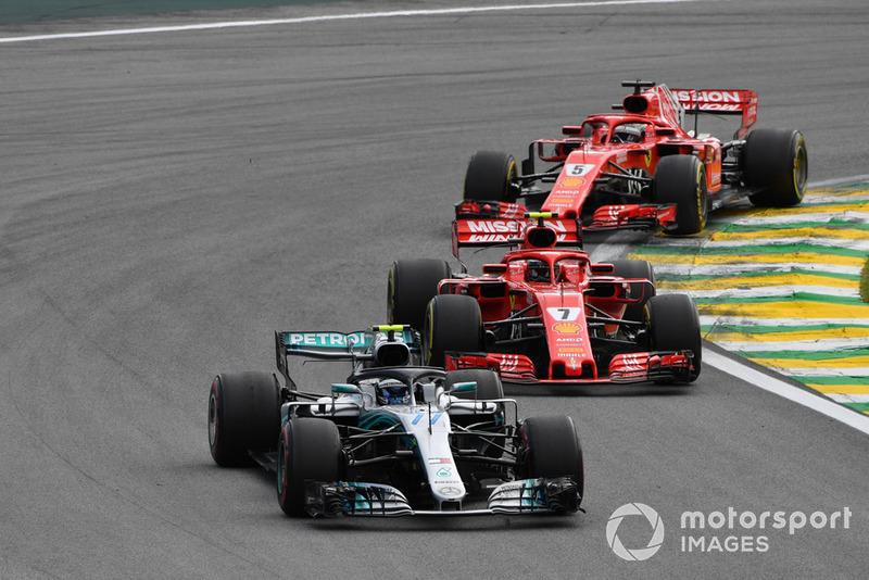 Валттері Боттас, Mercedes AMG F1 W0, попереду суперників