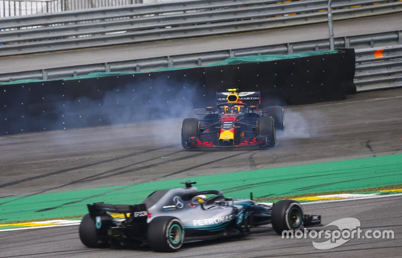 GP Brasil - Max Verstappen/Esteban Ocon (balapan)