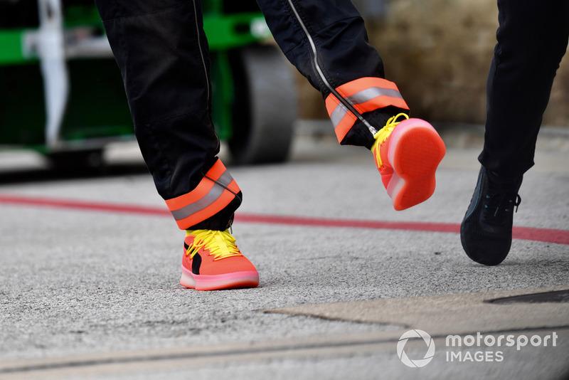 Botas de Lewis Hamilton, Mercedes AMG F1