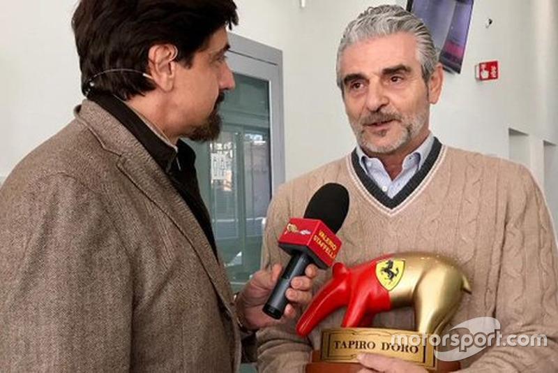 Мауріціо Аррівабене отримав премію «Золотой тапір»