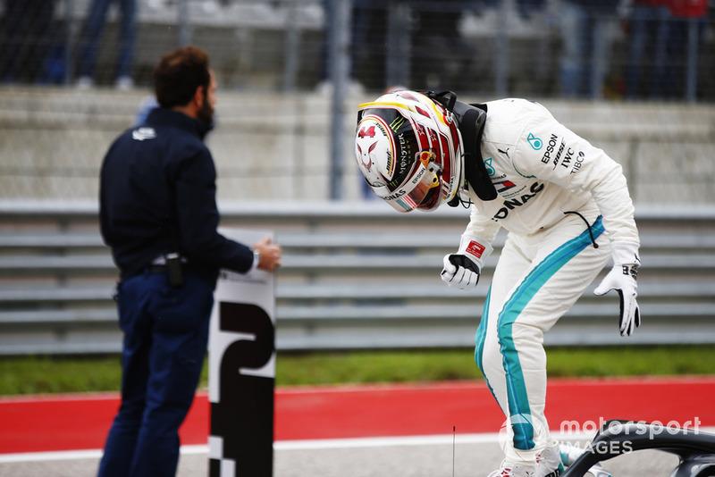 Peraih pole, Lewis Hamilton, Mercedes-AMG F1