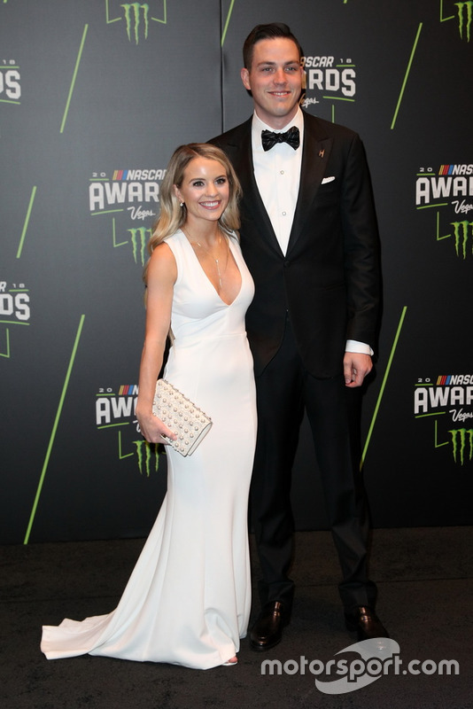 Alex Bowman, Hendrick Motorsports, mit Freundin Emily Boat