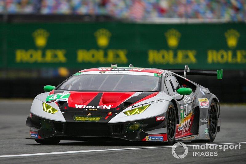 #47 Precision Performance Motorsports Lamborghini Huracan GT3: Steve Dunn, Don Yount, Linus Lundqvist, Milos Pavlovic