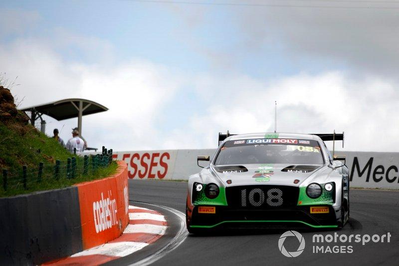 6. #108 Bentley Team M-Sport Bentley Continental GT3: Andy Soucek, Maxime Soulet, Vincent Abril
