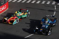 Nelson Piquet Jr., NEXTEV TCR Formula E Team, leads Lucas di Grassi, ABT Schaeffler Audi Sport