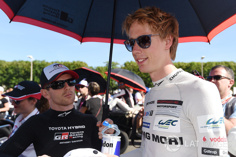 Anthony Davidson, Toyota Gazoo Racing, Brendon Hartley, Porsche Team
